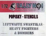 Luftwaffe Swastikas - Heavy Fighters & Bombers
