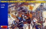 French Knights with Assault Ladders