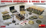 German Grenades & Mines Set