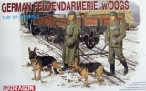 German Feldgendarmerie w/dogs