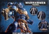 Space Marine + Paint Set