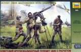 Soviet DShK Machinegun with Crew