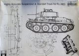 Highly Accurate Suspension & Standart Track for Pz.38(t)