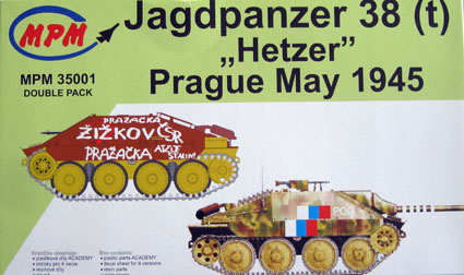 "Jagdpanzer 38(t) ""Hetzer"" - Prague,May 1945"