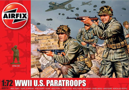 WWII U.S. Paratroops