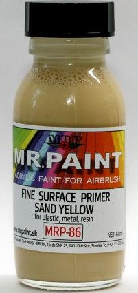 Fine Surfacer Primer - Sand Yellow