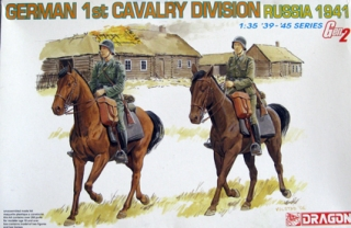 German 1st Cavalry Division Russia 1941