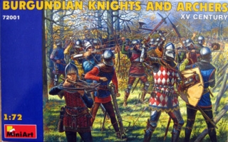 Burgundian Knights and Archers