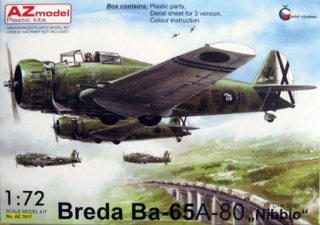 "Breda BA-65 A-80 ""Nibbio"" Over Spain"