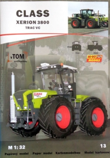 Class Xerion 3800 Trac VC