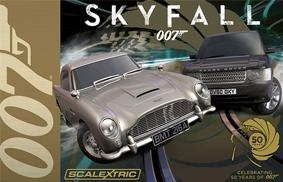 Autodráha James Bond 007 Skyfall