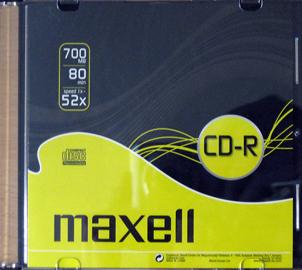 CD Maxell slim