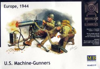 U.S.Machine gunners & Browning M1917A1