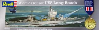 Atomic cruiser USS Long Beach