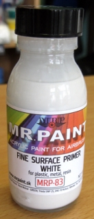 Fine Surfacer Primer - White