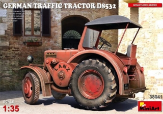 German Traffic Tractor D8532